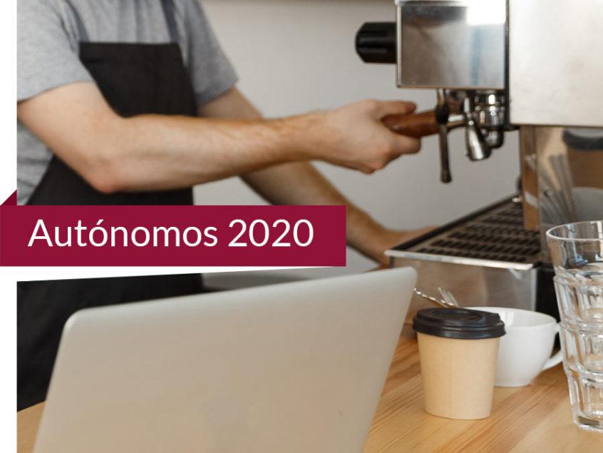 Autónomos sus novedades en 2020