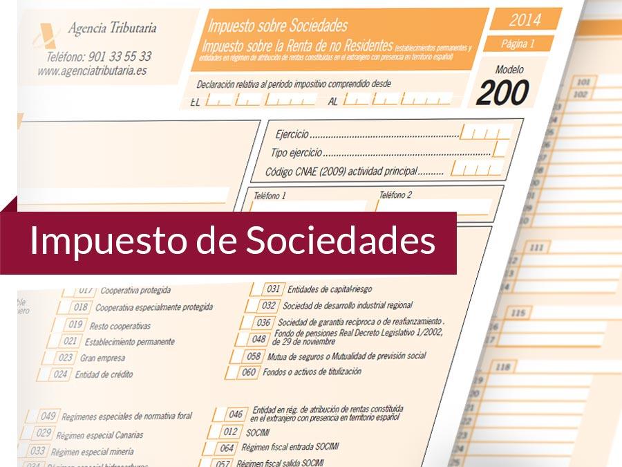 Preparar el Impuesto de Sociedades